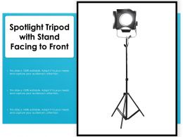 Spotlight Tripod With Stand Facing To Front
