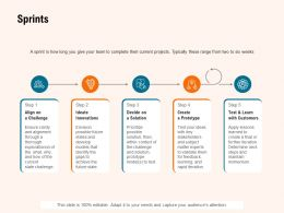 Sprints Innovations Ppt Powerpoint Presentation Layouts Format Ideas