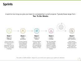 Sprints Management Marketing Checklist Ppt Powerpoint Presentation Styles Professional