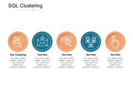 SQL Clustering Ppt Powerpoint Presentation Ideas Graphics Download Cpb