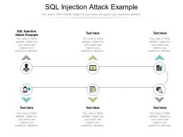 SQL Injection Attack Example Ppt Powerpoint Presentation Infographic Template Inspiration Cpb