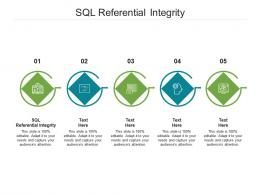 SQL Referential Integrity Ppt Powerpoint Presentation Portfolio Icons Cpb