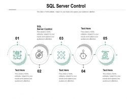 SQL Server Control Ppt Powerpoint Presentation Layouts Themes Cpb