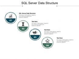 SQL Server Data Structure Ppt Powerpoint Presentation Model Microsoft Cpb