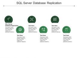 SQL Server Database Replication Ppt Powerpoint Presentation Ideas Mockup Cpb