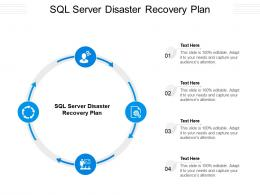 SQL Server Disaster Recovery Plan Ppt Powerpoint Presentation Layouts Gridlines Cpb