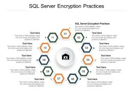 SQL Server Encryption Practices Ppt Powerpoint Presentation Portfolio Demonstration Cpb