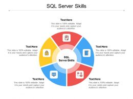 SQL Server Skills Ppt Powerpoint Presentation Show Examples Cpb