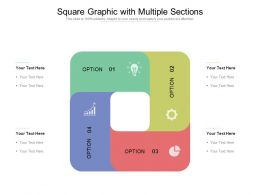 Square Graphic With Multiple Sections
