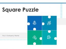 Square Puzzle Management Strategies Planning Business Controlling Performance