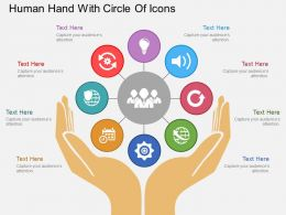 sr_human_hand_with_circle_of_icons_flat_powerpoint_design_Slide01