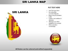 Sri Lanka Country Powerpoint Maps