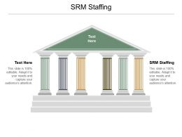 Srm Staffing Ppt Powerpoint Presentation Ideas Brochure Cpb