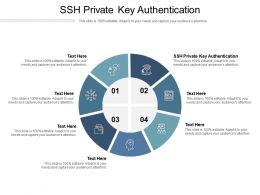 SSH Private Key Authentication Ppt Powerpoint Presentation File Summary Cpb