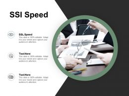 Ssi Speed Ppt Powerpoint Presentation Icon Example Cpb