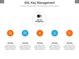 SSL Key Management Ppt Powerpoint Presentation Deck Cpb