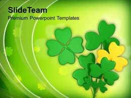 st_patricks_day_clover_lucky_symbol_irish_powerpoint_templates_ppt_backgrounds_for_slides_Slide01