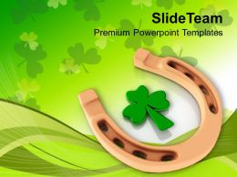 St Patricks Day Decorations Saint Celebration Green Templates Ppt Backgrounds For Slides