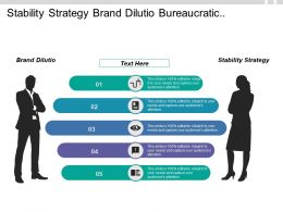 Stability Strategy Brand Dilutio Bureaucratic Culture Fluctuating Fuel Prices