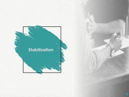 Stabilization Ppt Powerpoint Presentation Professional Display