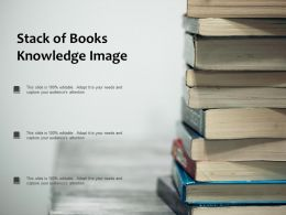 Stack Of Books Knowledge Image
