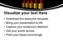 stack_of_coins_with_word_forex_wealth_powerpoint_templates_ppt_themes_and_graphics_0213_Slide02