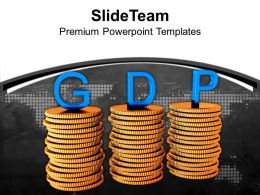 stack_of_coins_with_word_gdp_finance_powerpoint_templates_ppt_themes_and_graphics_0213_Slide01