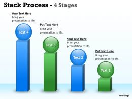 Stack Pocess With 4 Stages