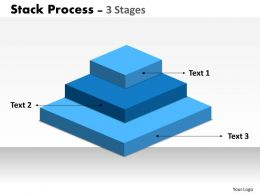 Stack Process 3 Stages For Marketing 17