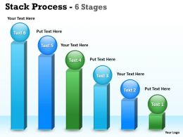 Stack Process 6 Stages For Sales Process