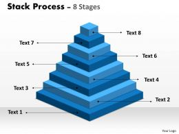 Stack Process 8 Stages For Sales Process
