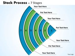 Stack Process diagram ppt