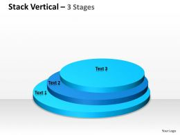 Stack Process Diagram Vertical 3 Stages 18