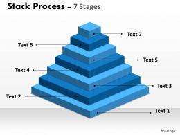 Stack Process Diagram With 7 Stages