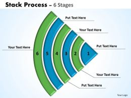 Stack Process diagrams ppt