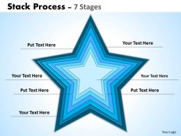 Stack Process template ppt