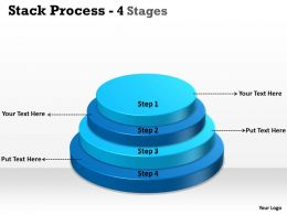 Stack Process With 4 Step For Planning