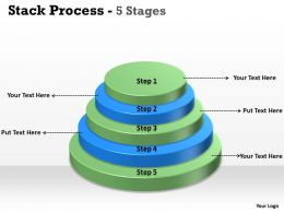 Stack Process With 5 Steps