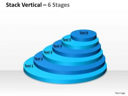 Stack Vertical With 6 Stages For Marketing