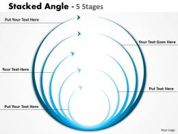 Stacked Angle design