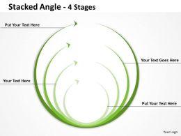 Stacked Angle round shape 5