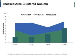 Stacked Area Clustered Column Finance Ppt Infographic Template Example Introduction