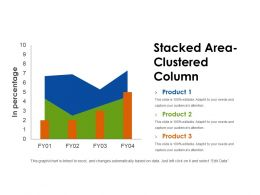 Stacked Area Clustered Column Powerpoint Show