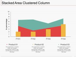 Stacked Area Clustered Column Ppt Icon Slide Portrait