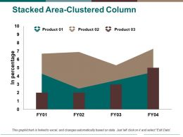 Stacked Area Clustered Column Ppt Pictures Graphics Design