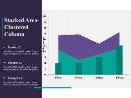 Stacked Area Clustered Column Ppt Powerpoint Presentation File Designs