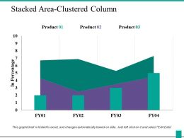 Stacked Area Clustered Column Ppt Powerpoint Presentation Icon Visuals