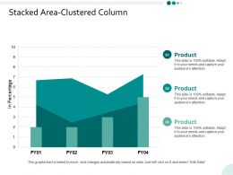 Stacked Area Clustered Column Ppt Powerpoint Presentation Infographics Background