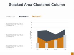 Stacked Area Clustered Column Ppt Powerpoint Presentation Outline Background