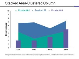 Stacked Area Clustered Column Ppt Rules